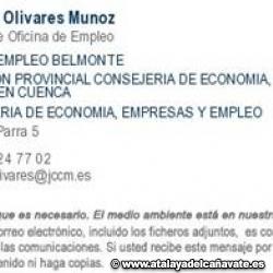 COMUNICADO OFICINA DE EMPLEO